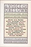 img - for A Voice of One's Own: Conversations with America's Writing Women book / textbook / text book