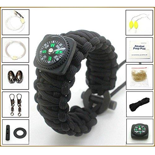 Kadyn durable multi-purpose paracord survival bracelet