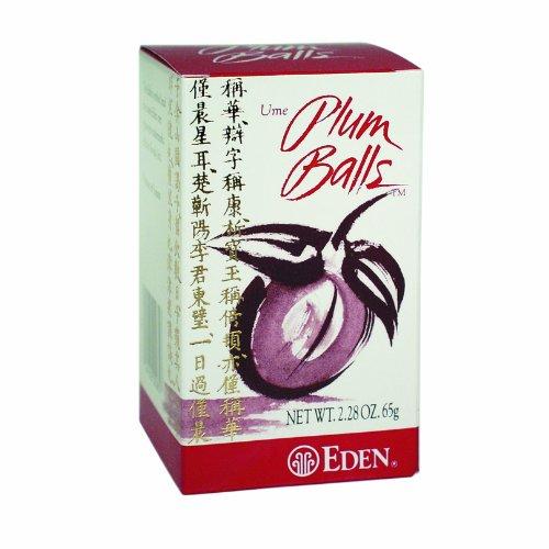 Eden Plum Balls, 2.28-Ounce Box (Plum Ume)