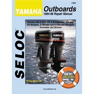 YAMAHA Outboard Repair Manual, 1-2 CYL 1984-1996