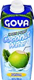 Goya Foods 100% Pure Coconut Water, 16.89 Ounce (Pack of 24)