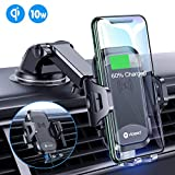 VICSEED Universal Wireless Car Charger Mount Qi