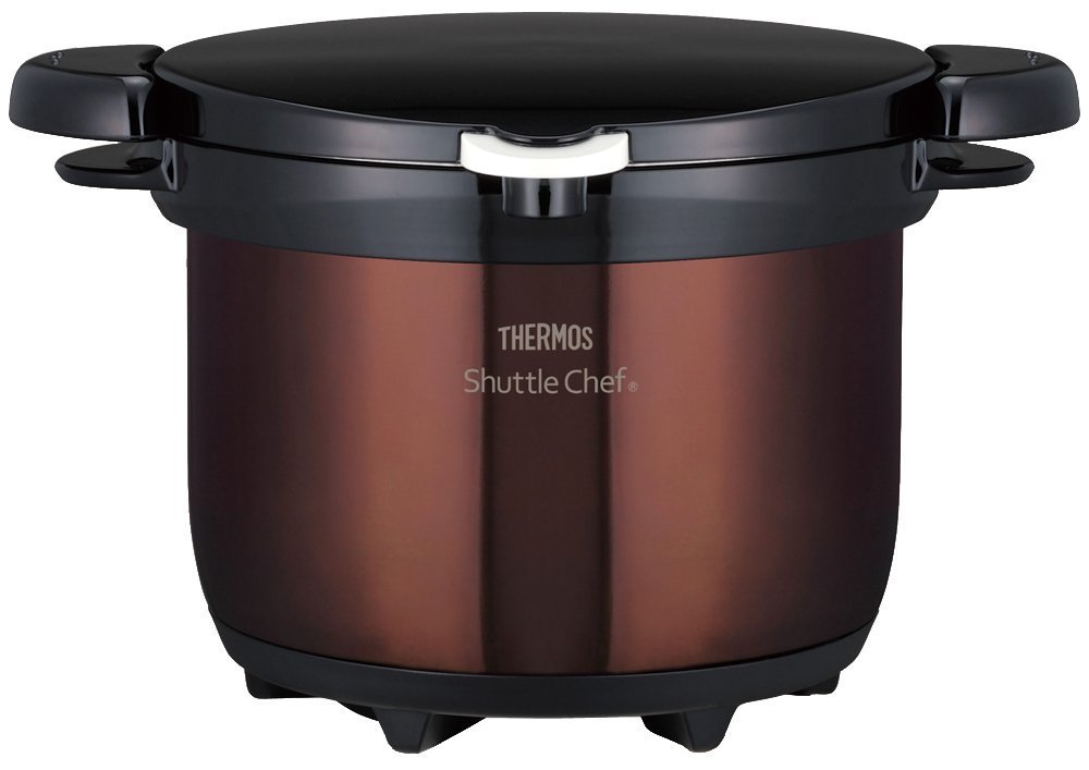 THERMOS vacuum thermal insulation cooker shuttle chef 3.0L clear brown KBG-3000 CBW by Thermos
