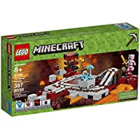 LEGO Minecraft The Nether Railway 21130 Building Kit (387...