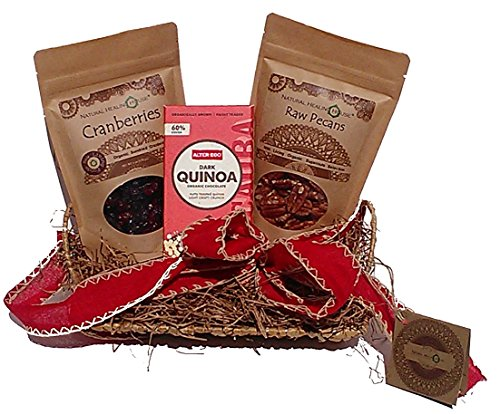 Organic Nuts and Superfoods Holiday Gift Basket