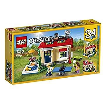 Lego Creator 31067 Ferien Am Pool Amazon De Spielzeug