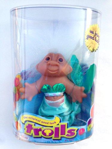 The Original Good Luck MERMAID Troll Doll