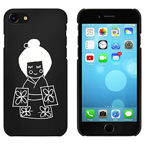 Noir 'Geisha' étui / housse pour iPhone 7 (MC00057349)
