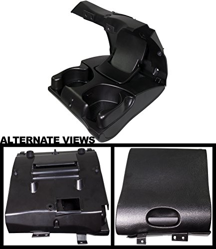 APDTY 139951 Cup Holder Center Dash Dashboard Instrument Panel Mounted Fits 1998-2001 Dodge Ram 1500 2500 3500 Pickup (Agate Color; Replaces 5FR421AZAE) by APDTY