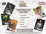 2019 Upper Deck Flair Marvel Trading Card box