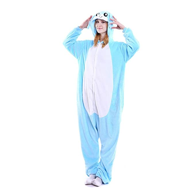 DRESS_start Unisex De Dibujos Animados De Cosplay Animales Insectos Trajes Con Capucha Kigurumi Adultos Enterizo De