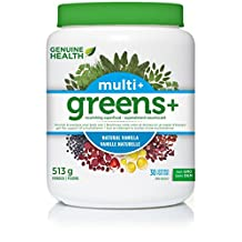Genuine Health greens+ multi+ vanilla 513g