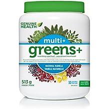 Genuine Health Greens+ Multi+, Natural Vanilla, 521 g
