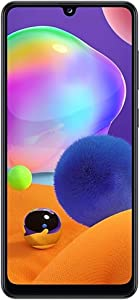 Samsung Galaxy A31-128GB / 4GB - A315G/DSL Unlocked Dual Sim Phone w/Quad Camera 48MP+8MP+5MP+5MP GSM International Version (Prism Crush Black)