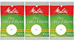 White Disc Coffee Filter, 100 Count by Melitta