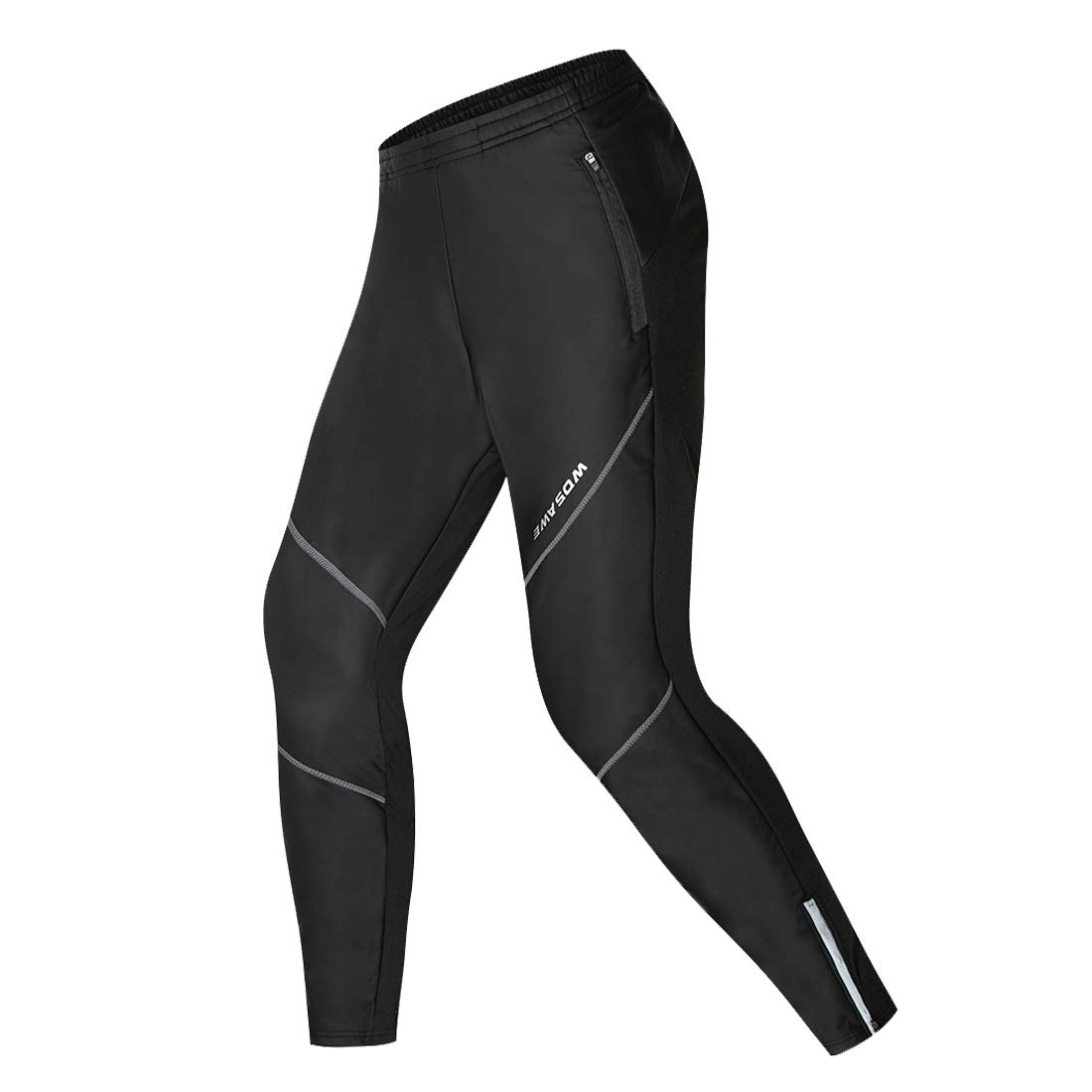 WOLFBIKEメンズThermal Cycling Jersey MTBバイクジャケットパンツ防風 B01N97BL8N Small|PU Leather Pants-Black PU Leather Pants-Black Small