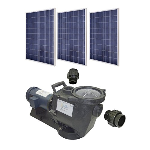 Savior sunray solflo 1 s750 pm 3 4 hp solar filter pool for Solar water filter for ponds