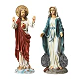 Design Toscano Italian Style Devotional Art Jesus and Mary Sculptures