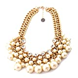 2 Broke Girls Artificial Pearls Necklace,Caroline Layers Beads Necklace,Fashion Pearl Great Quality Necklace,Great Gift for 2 Broke Girls Fans Clistmas Gifts