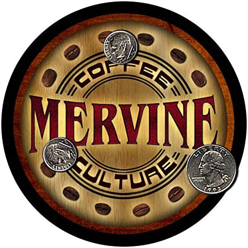 Amazon Com Zuwee Mervine Coffee Neoprene Rubber Personalized Drink Coaster Set Coasters