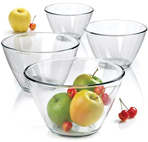 Anchor Hocking 4-Piece Splash Proof Bowl Set.