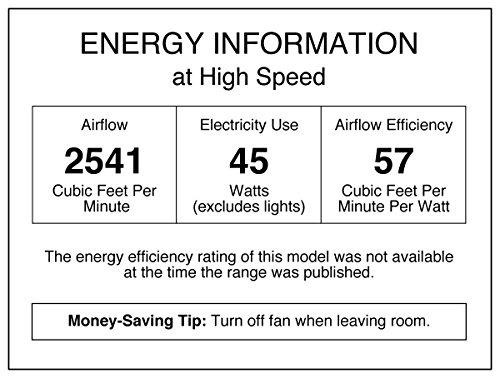 Westinghouse Antique Brass Turbo Ceiling Fan, Model 7824800,