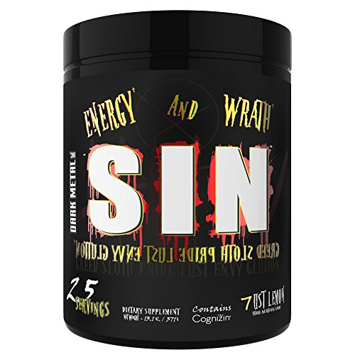 Dark Metal Sin Energy Supplement, 13.7 Ounce
