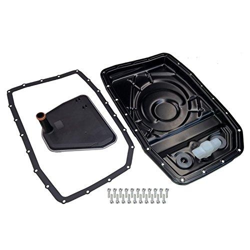 Transmission Pan Easy Change Filter Conversion Kit by Britpart Part DA2142 ()