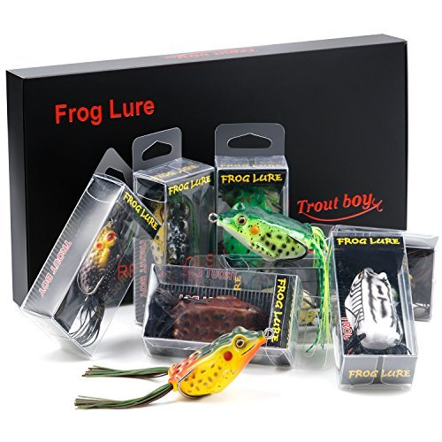 TROUTBOY Frog Fishing Lure Featured Image