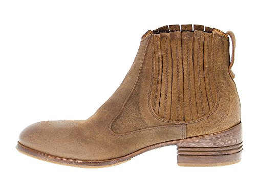Moma Boots Stivaletti 32802brown 32802brown Marrone Suede In Moma Delle Camoscio Women's Donne Ankle Brown S8wg0dqY
