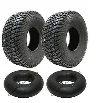 2 - 16x6.50-8 4ply césped césped cortacésped neumáticos y cámaras: Amazon.es: Coche y moto