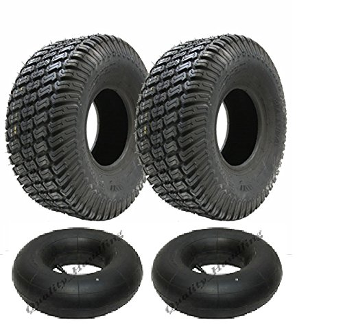 Parnells For sale are 2-11x4.00-5 4ply turf grass lawn mower tyres & tubes Wanda