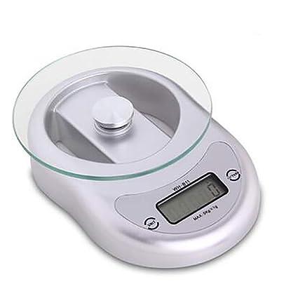 LF Stores Balanzas electrónicas para el hogar Cocina para Hornear Alimentos Escalas de gramo Escala de