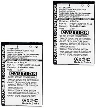 Siemens Gigaset SL788 teléfono inalámbrico Combo-pack incluye: 2 x EM-CPL-536 pilas: Amazon.es: Electrónica