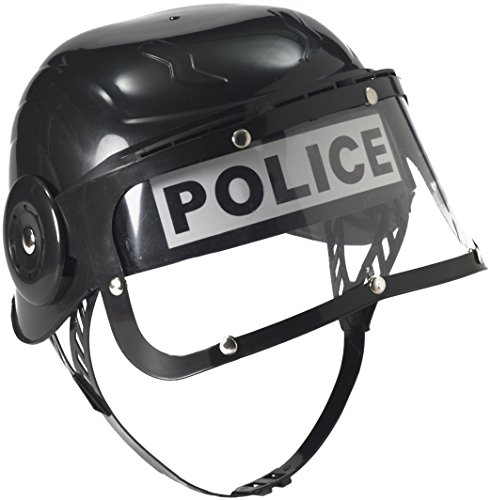 Forum Child Police Helmet, Black (Policeman Costumes)