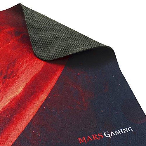 MARSGAMING Mars Gaming MRCP1, Pack 4en1 Teclado,Cascos, Ratón 2800DPI y Alfombrilla 35x25cm