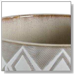 Rivet Geometric Ceramic Planter, 8.7