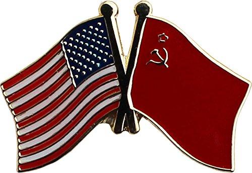(Flagline USSR - Friendship Lapel Pin)