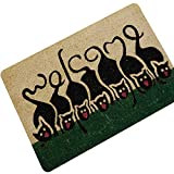 Chery-Story Carpet Cat Doormat Outdoor Rugs Rubber Floor Mat Non-Slip Kitchen Rug Entrance Mats Absorbent Bathroom Carpet Foot Mat,Cat 12,60x90cm