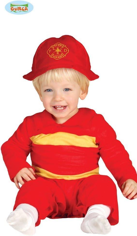 Disfraz de Bombero para bebé - 1-12 meses: Amazon.es: Juguetes y ...