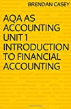 AQA AS Accounting Unit 1 Introduction to Financial Accounting