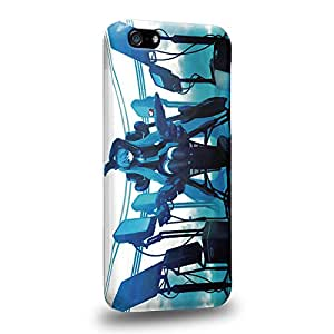 Case88 Premium Designs Vocaloid Miki Hatsune Miku 1173 Carcasa/Funda dura para el Apple iPhone 5C