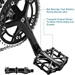 WELLXUNK-Pedali-Bicicletta-Mountain-Bike-Pedali-Bicicletta-Pedale-Antiscivolo-Pedali-MTBBMX-Ultra-Leggero-Durevole-in-Lega-di-Alluminio-Antiscivolo-Pedali-Bicicletta-1-Paio