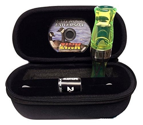 Zink Money Maker Competition-Style Goose Call Acrylic Goose Call Interference Green by Zink (Image #1)