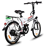 ANCHEER Power Plus Electric Mountain Bike with Lithium-Ion Battery Mountain Bike (AN-EB002)