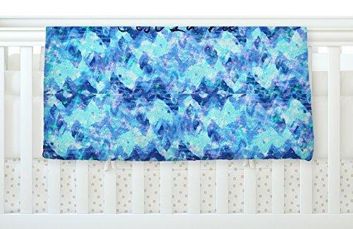 KESS InHouse Ebi Emporium C'est La Vie Revisited Blue Aqua Fleece Baby Blanket 40 x 30 [並行輸入品]   B077ZQTDSR