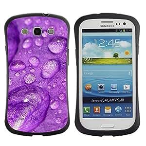 "Hypernova Slim Fit Dual Barniz Protector Caso Case Funda Para SAMSUNG Galaxy S3 III / i9300 / i747 [Planta Naturaleza Forrest Flor 31""]"