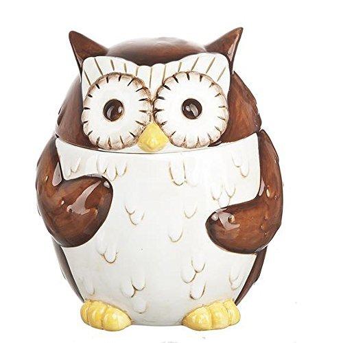 Ganz Woodsy Owl Candy Jar Kitchen Storage Container