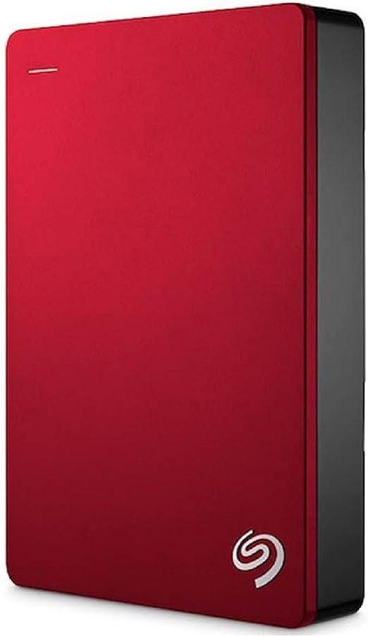 Seagate Backup Plus 5TB Portable External Hard Drive USB 3.0, Red (STDR5000103) [並行輸入品]