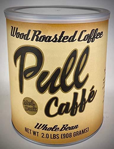 Pull Caffe Wood Roasted Coffee Med Dark 2 lbs
